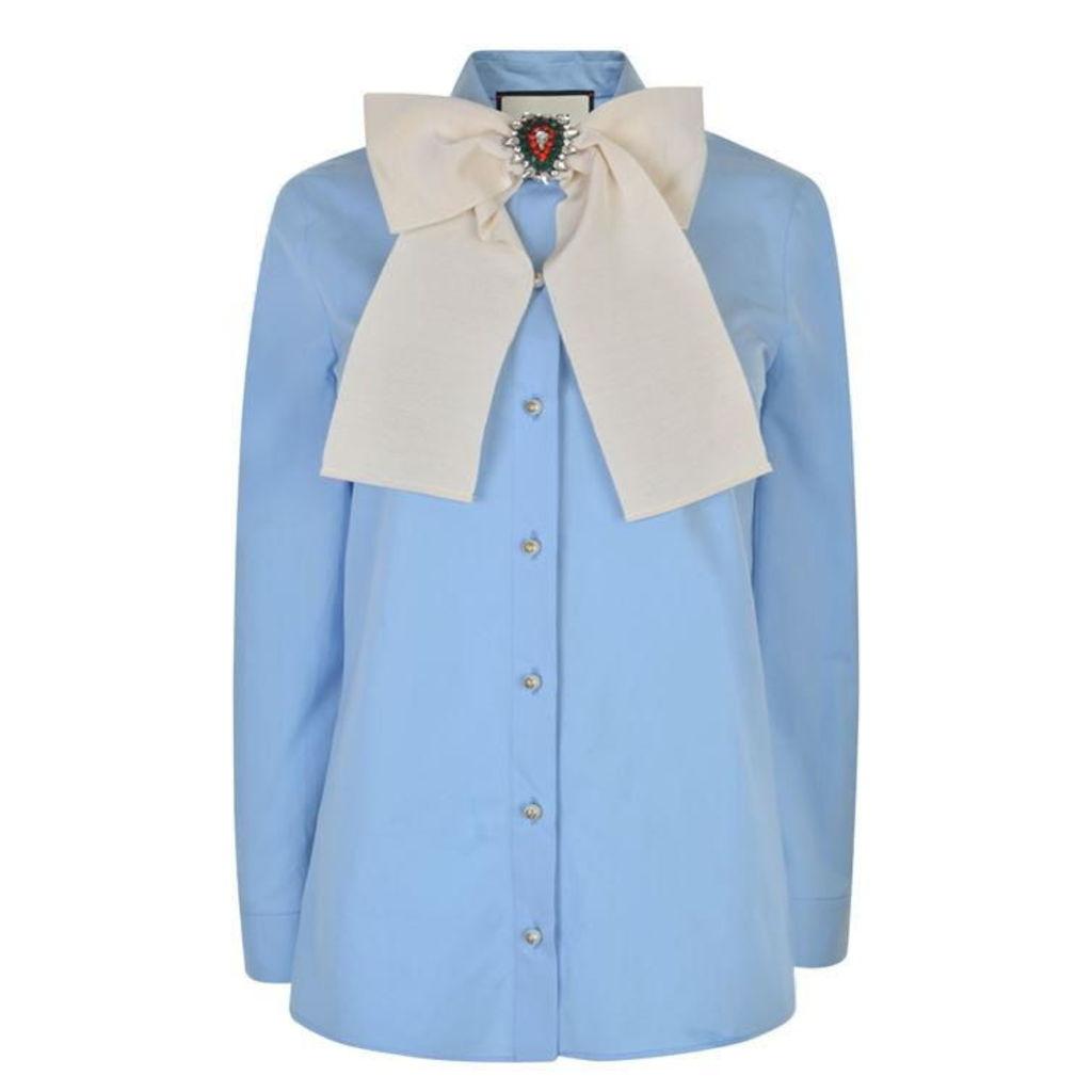 GUCCI Pearl Button Shirt