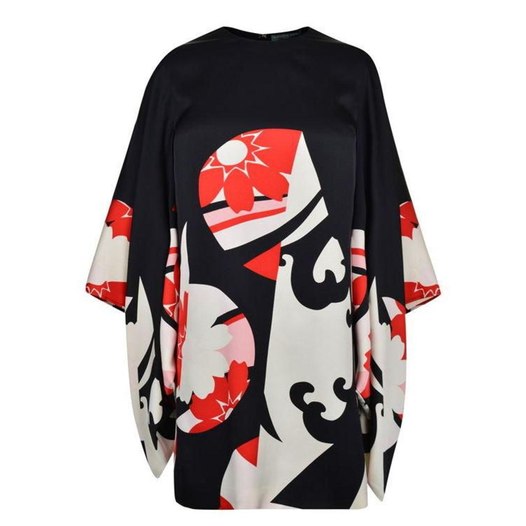 ALEXANDER MCQUEEN Kansai Kite Dress