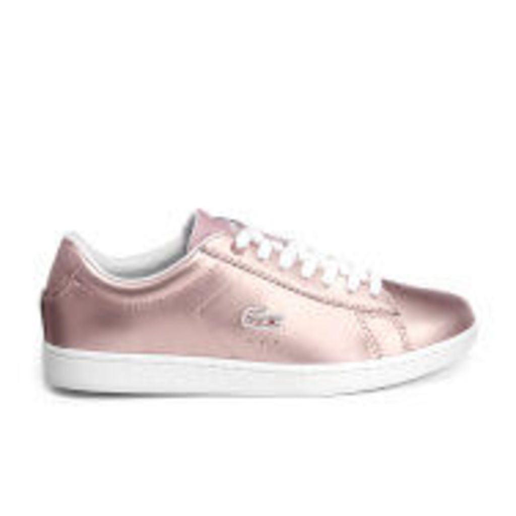 Lacoste Women's Carnaby Evo 117 3 Cupsole Trainers - Light Pink - UK 3