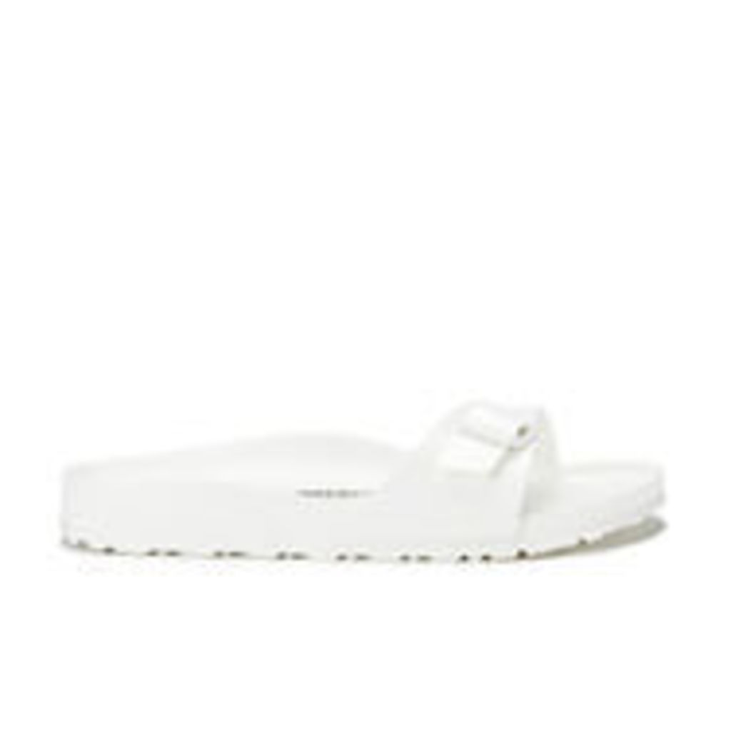 Birkenstock Women's Madrid Slim Fit Eva Single Strap Sandals - White - UK 5