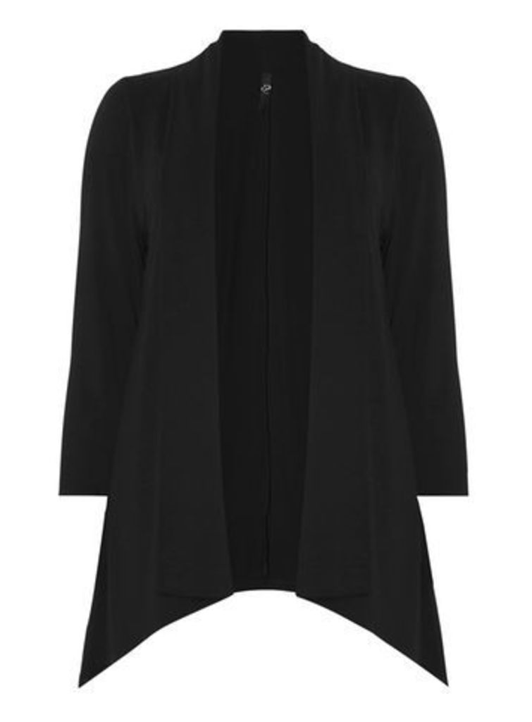 Black Long Sleeve Cover Up, Black