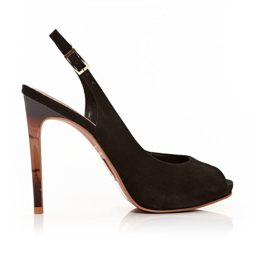 Moda in Pelle Chia Black Very High Smart Shoes