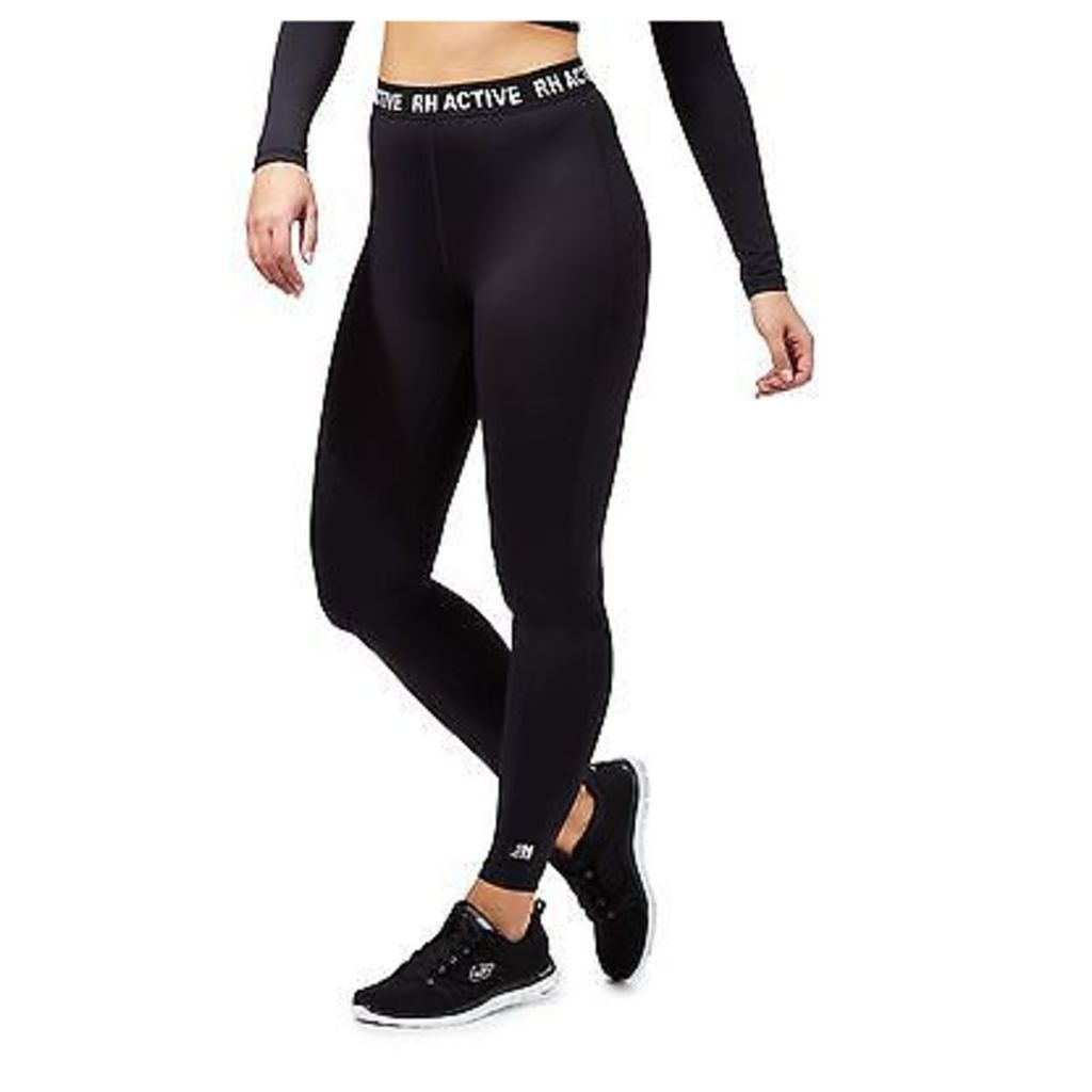 Red Herring Womens Black Athletic Leggings From Debenhams