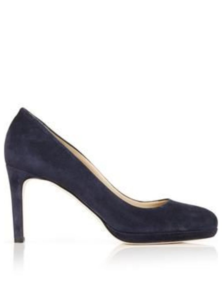 Hobbs Julietta Suede Court Shoes - Navy