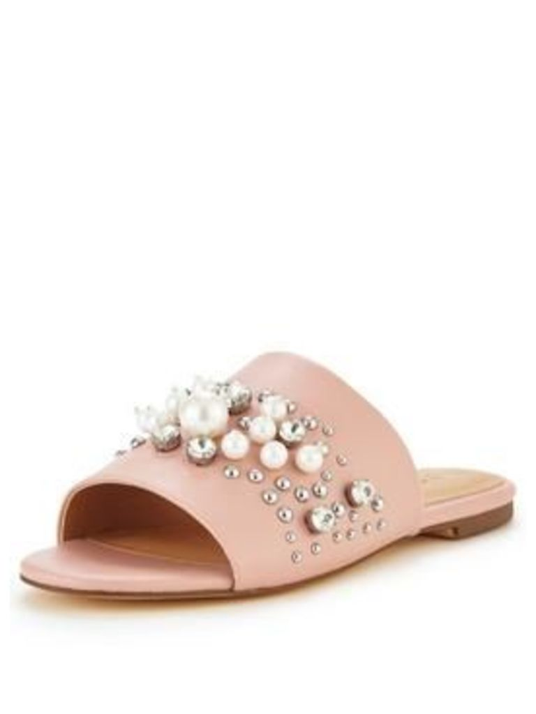 V By Very Pebbles Pearl Slide Nude