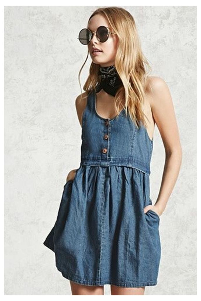Clean Wash Denim Dress