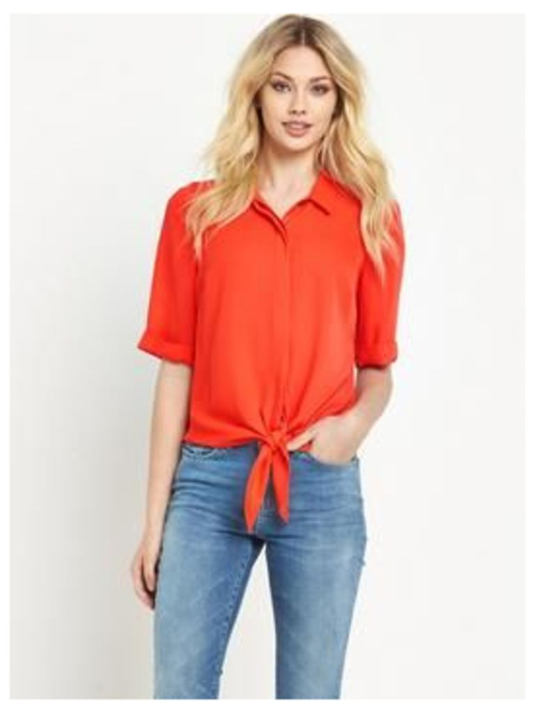 V By Very Knot Front Blouse