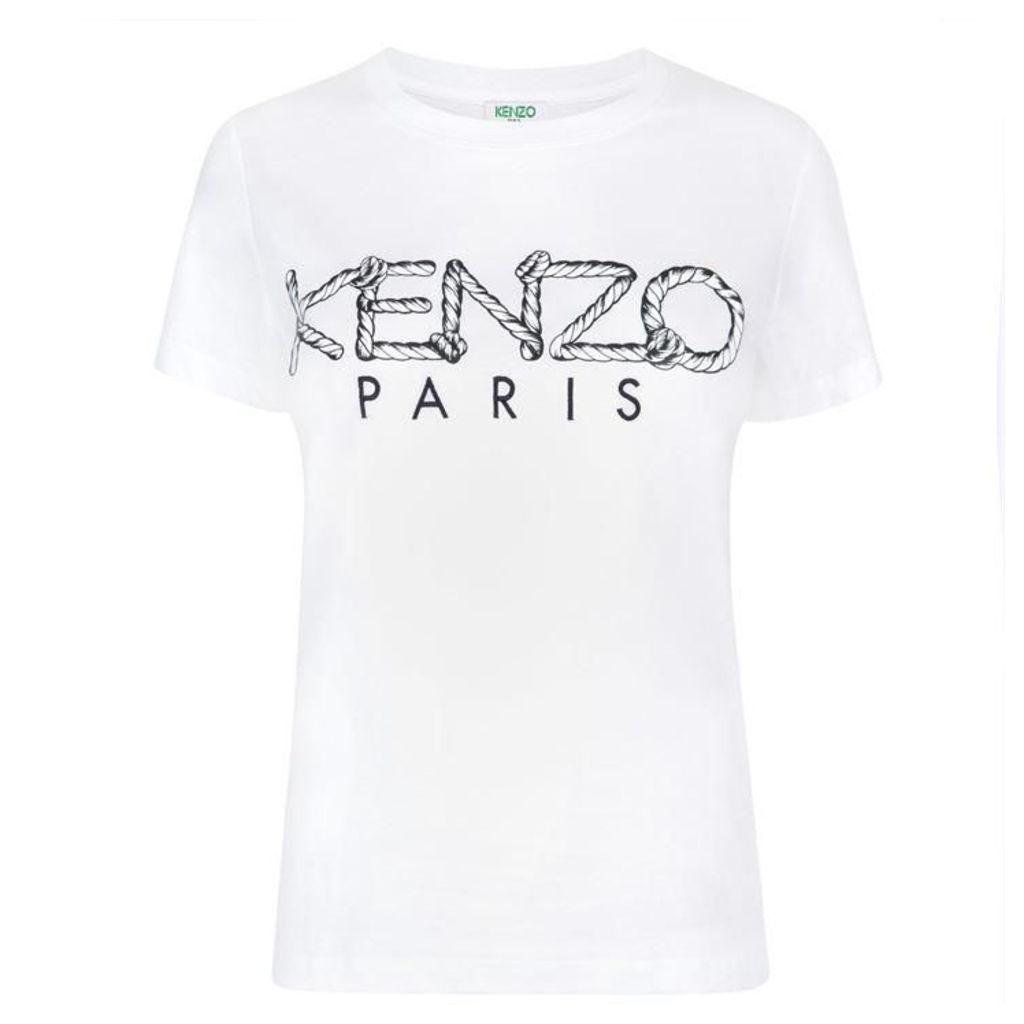 KENZO Rope Logo T Shirt