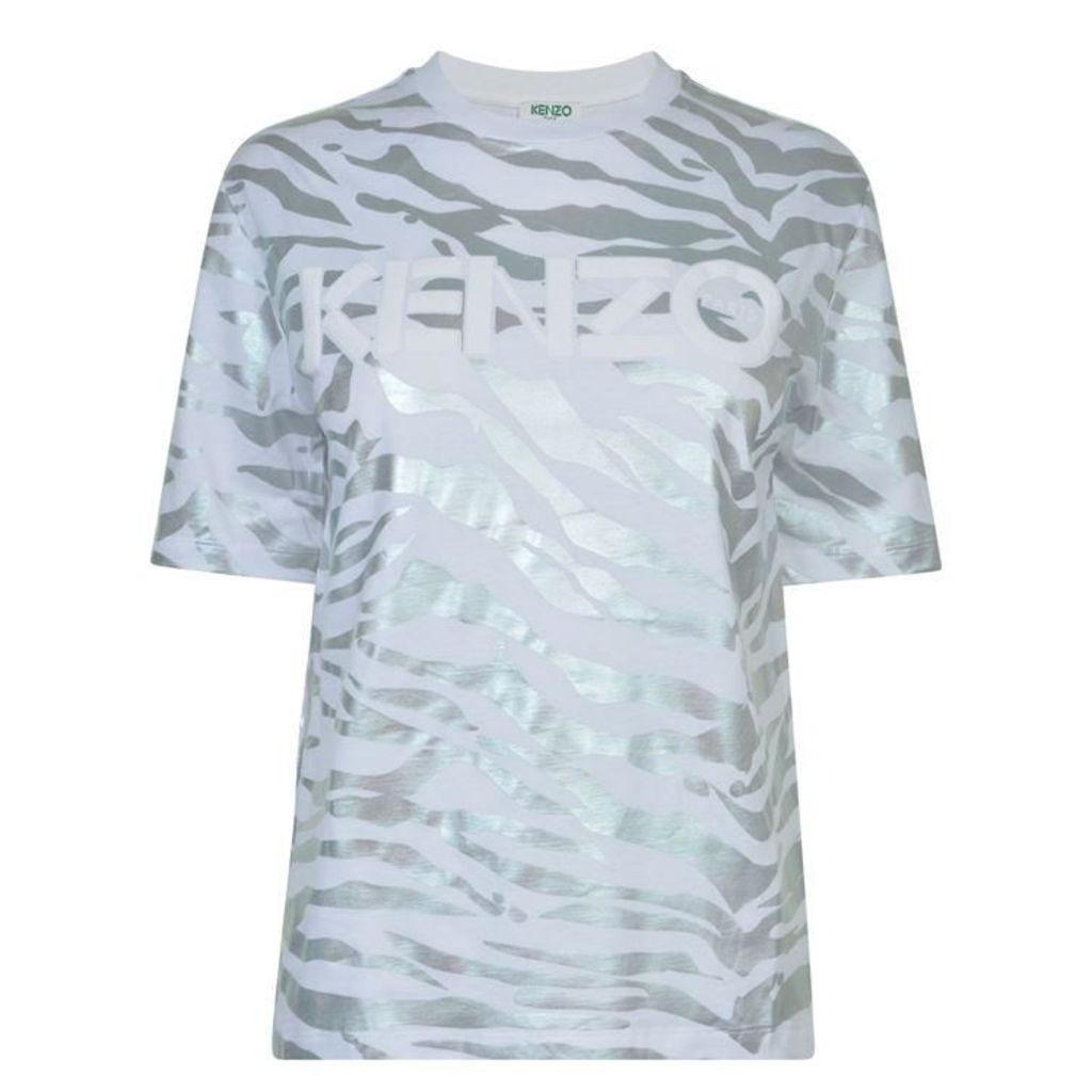 KENZO Metallic Tiger T Shirt