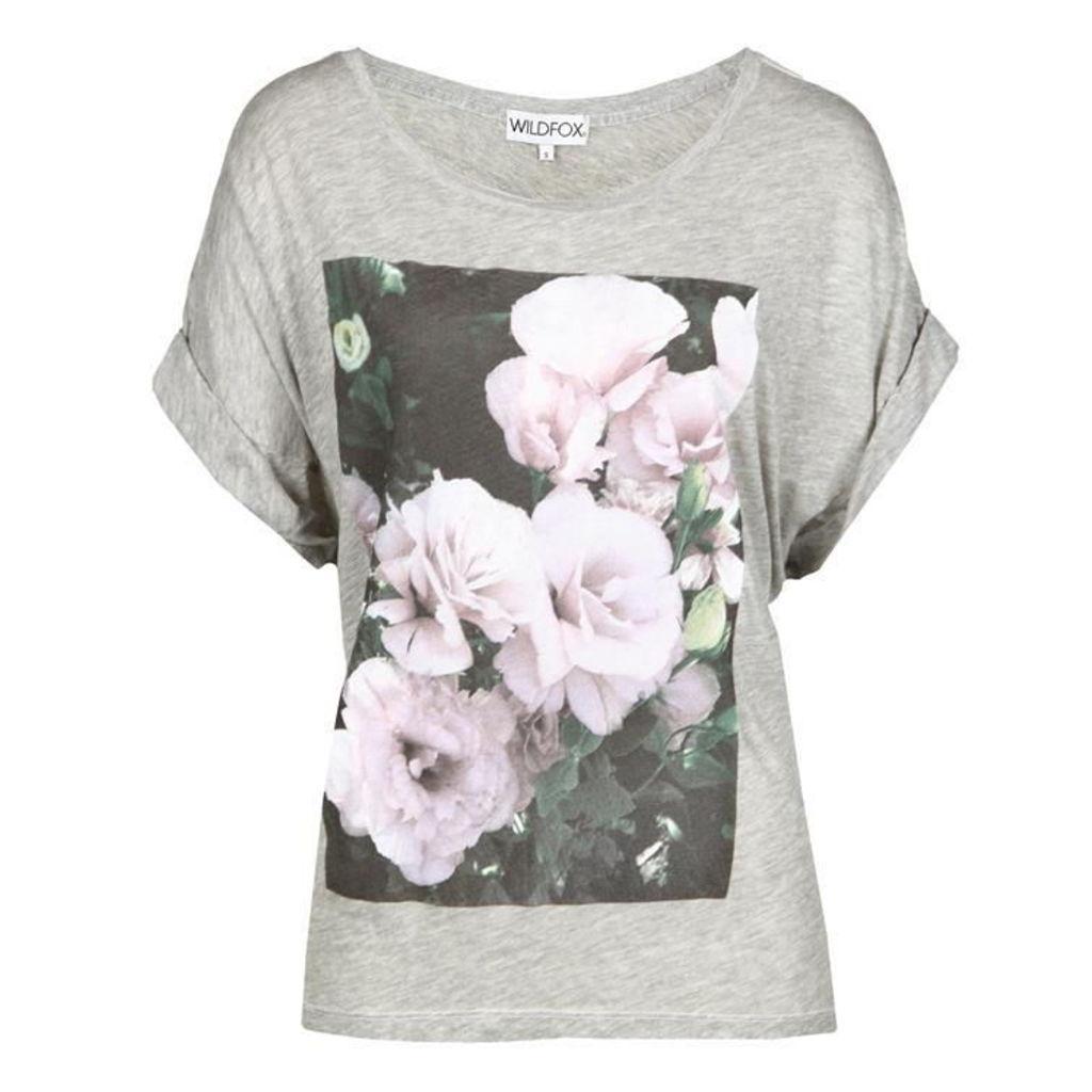 WILDFOX Romantic Rose T Shirt