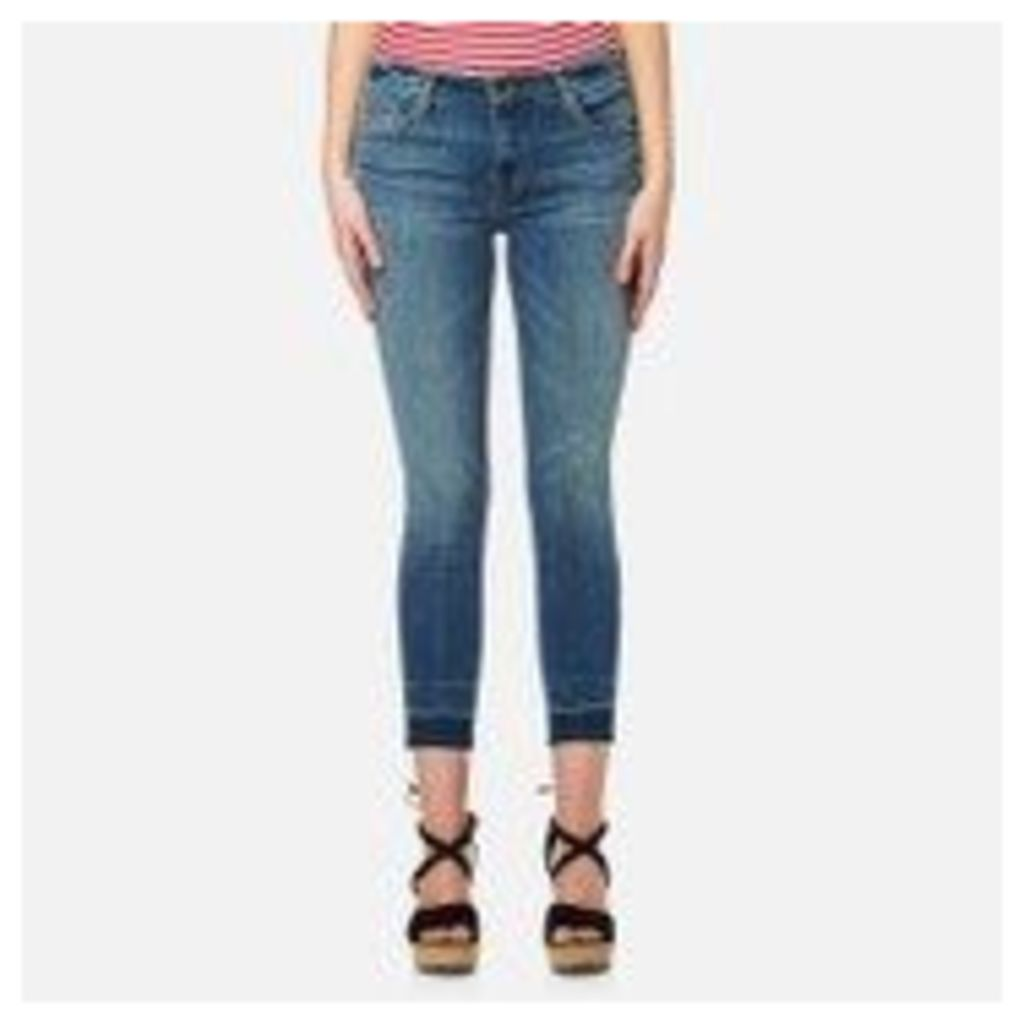 J Brand Women's 835 Mid Rise Crop Skinny Jeans - Corrupted - W29/L32