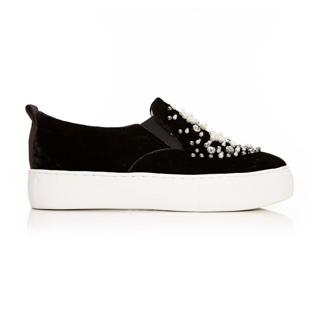 Moda in Pelle Andrie Black Low Leisure Shoes