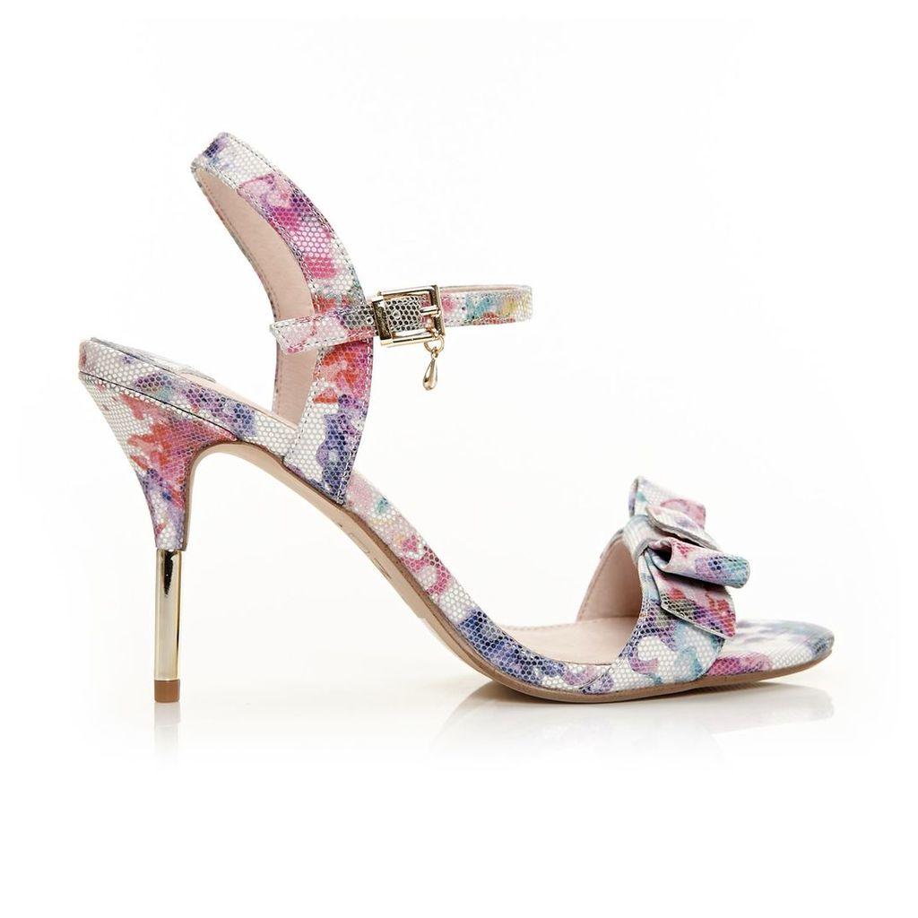 Moda in Pelle Samora Floral High Occasion Sandals