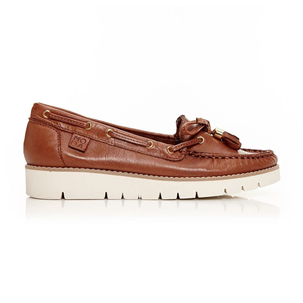 Moda in Pelle Aledos Tan Low Casual Shoes