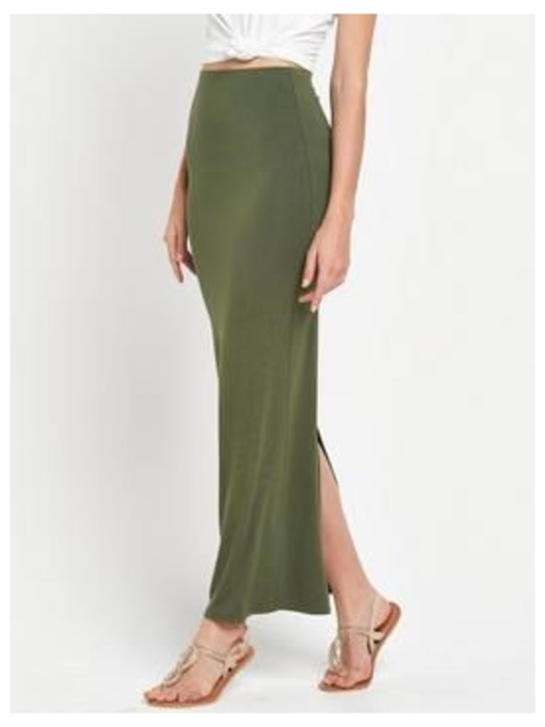 V By Very Essential Jersey Maxi Skirt