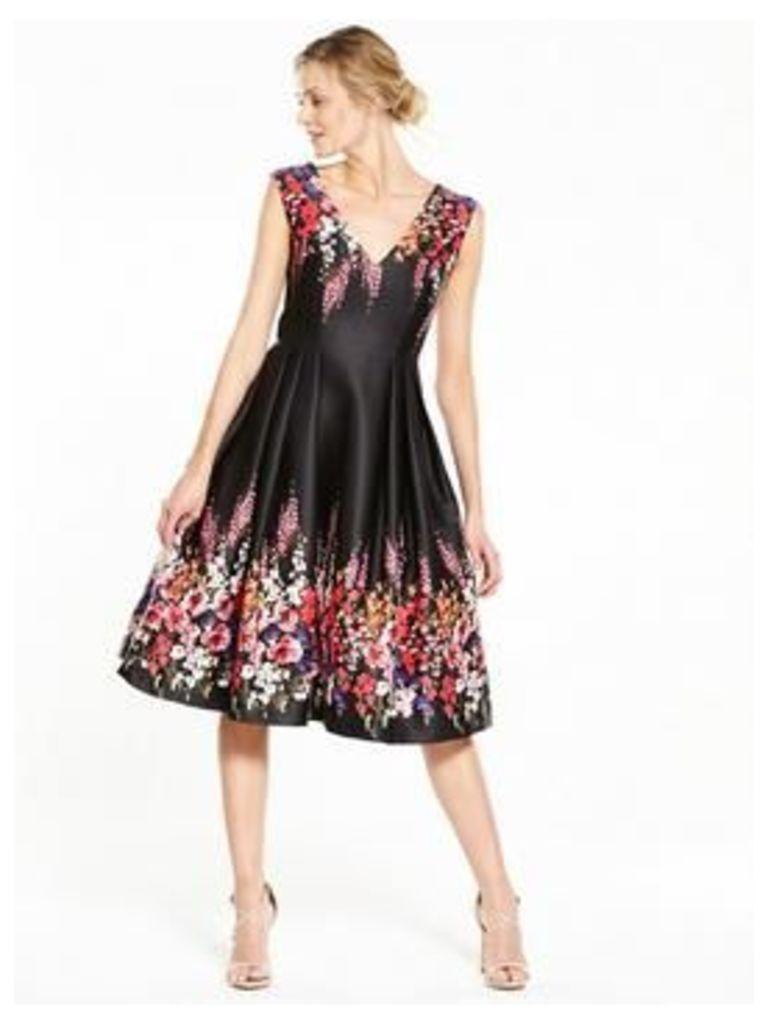 V By Very Printed Prom Dress