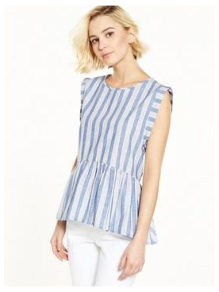 Y.A.S Linga Stripe Top