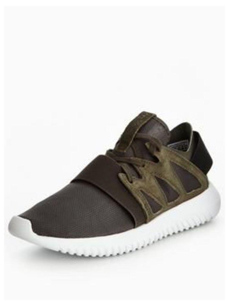 adidas Originals Tubular Viral, Dark Grey, Size 7, Women