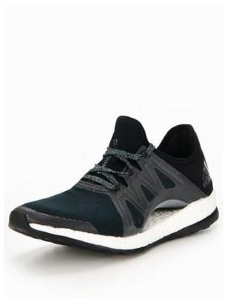 adidas PureBOOST Xpose, Black, Size 8, Women