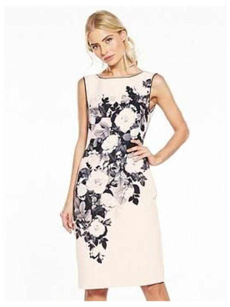 Phase Eight Eleanor Print Dress, Print, Size 18, Women