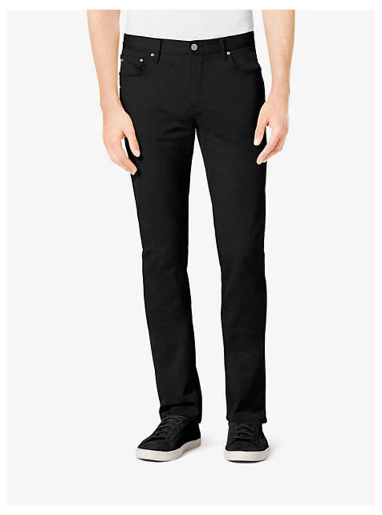 Tailored/classic-Fit Stretch-Cotton Twill Jeans