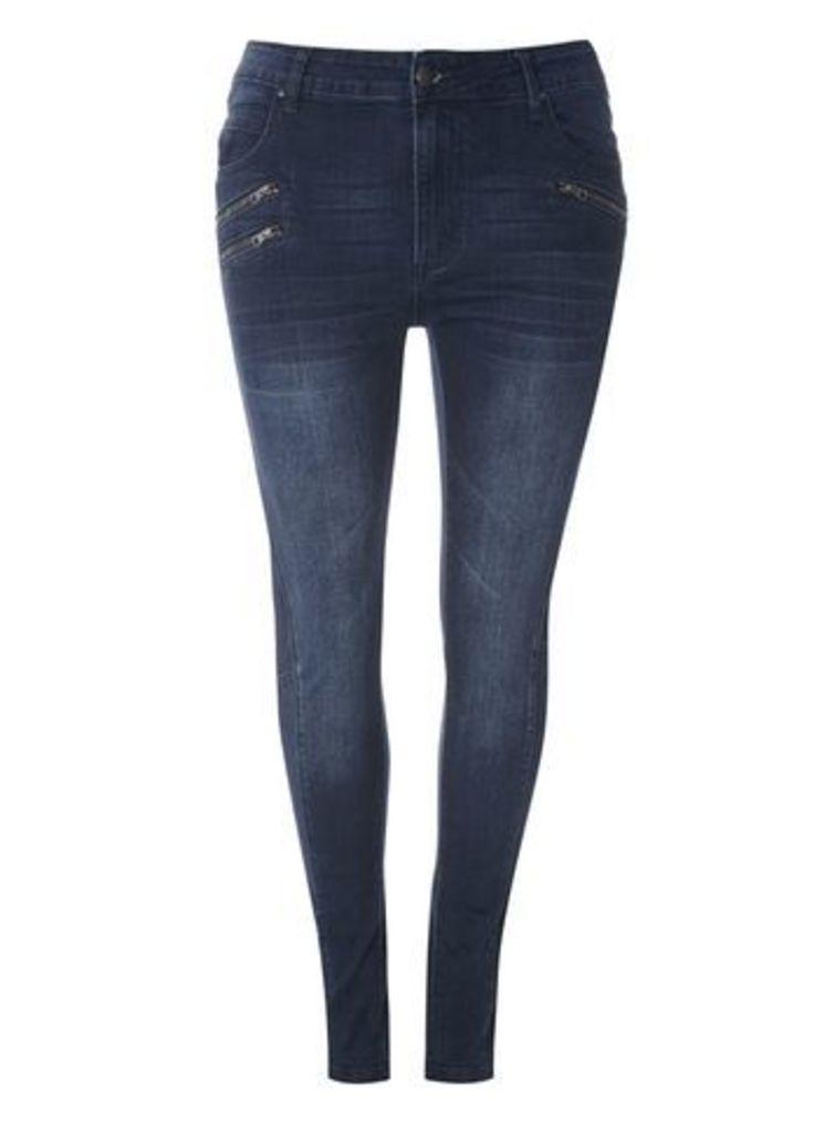 Live Unlimited Blue Denim Jeans, Denim