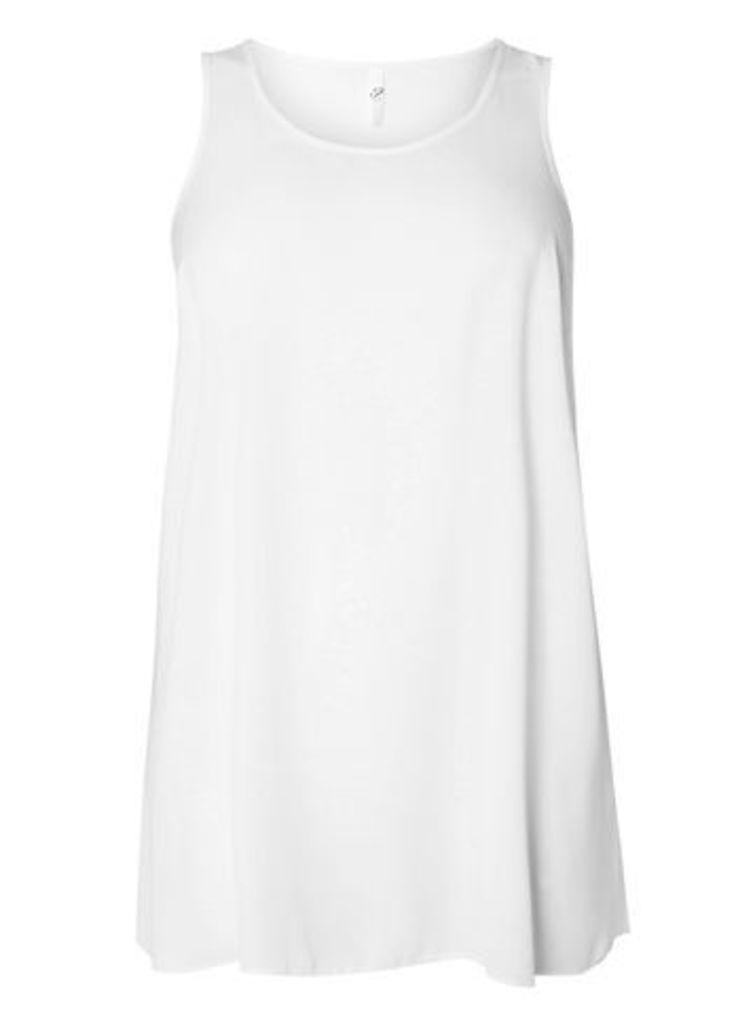 Ivory Longline Vest, Ivory