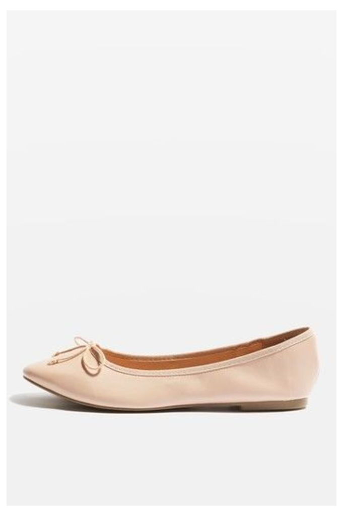 Womens VISION Softy Ballet Shoes - Nude, Nude
