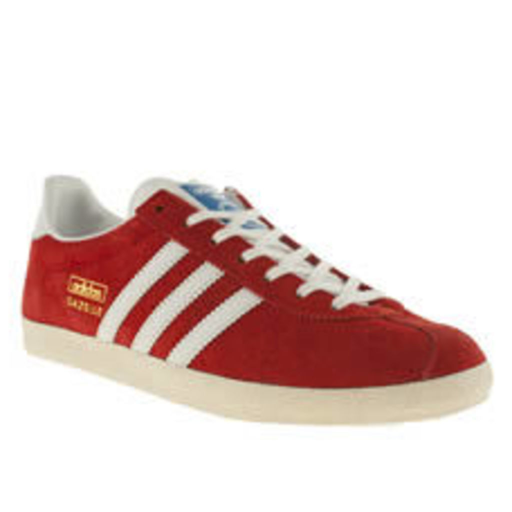 Adidas Red Gazelle Og Ii Womens Trainers