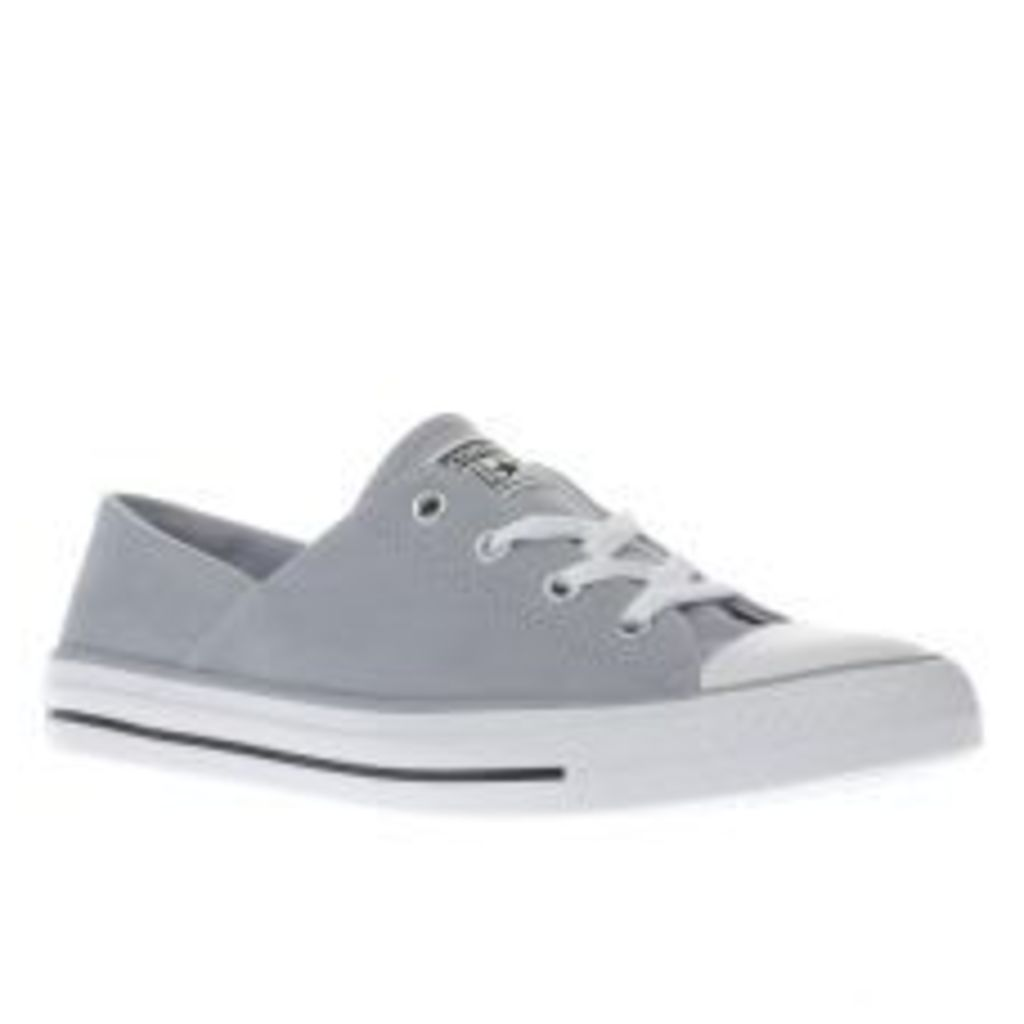 Converse Pale Blue Coral Peached Canvas Ox Womens Trainers