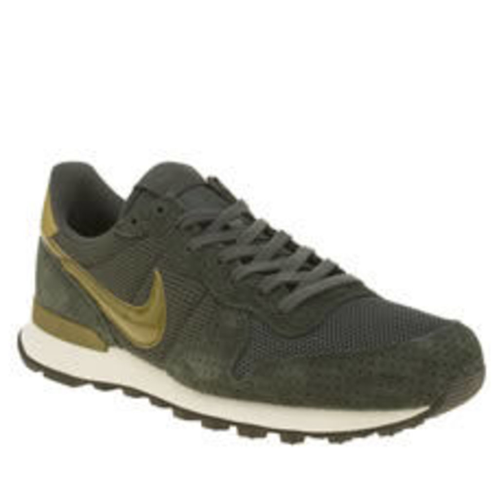 Nike Dark Green Internationalist Womens Trainers