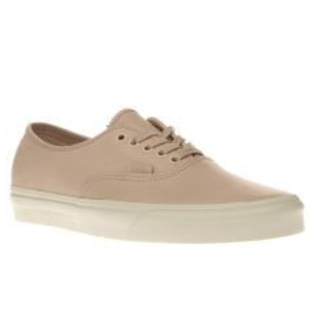Vans Natural Veggie Leather Authentic Dx Womens Trainers