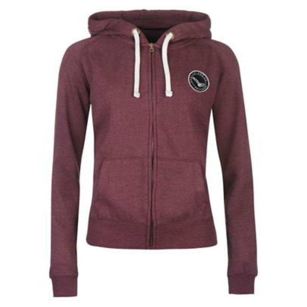 SoulCal Signature Zipped Hoodie Ladies