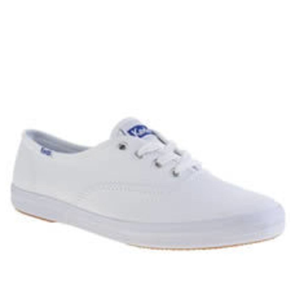 Keds White Champion Lace Womens Trainers
