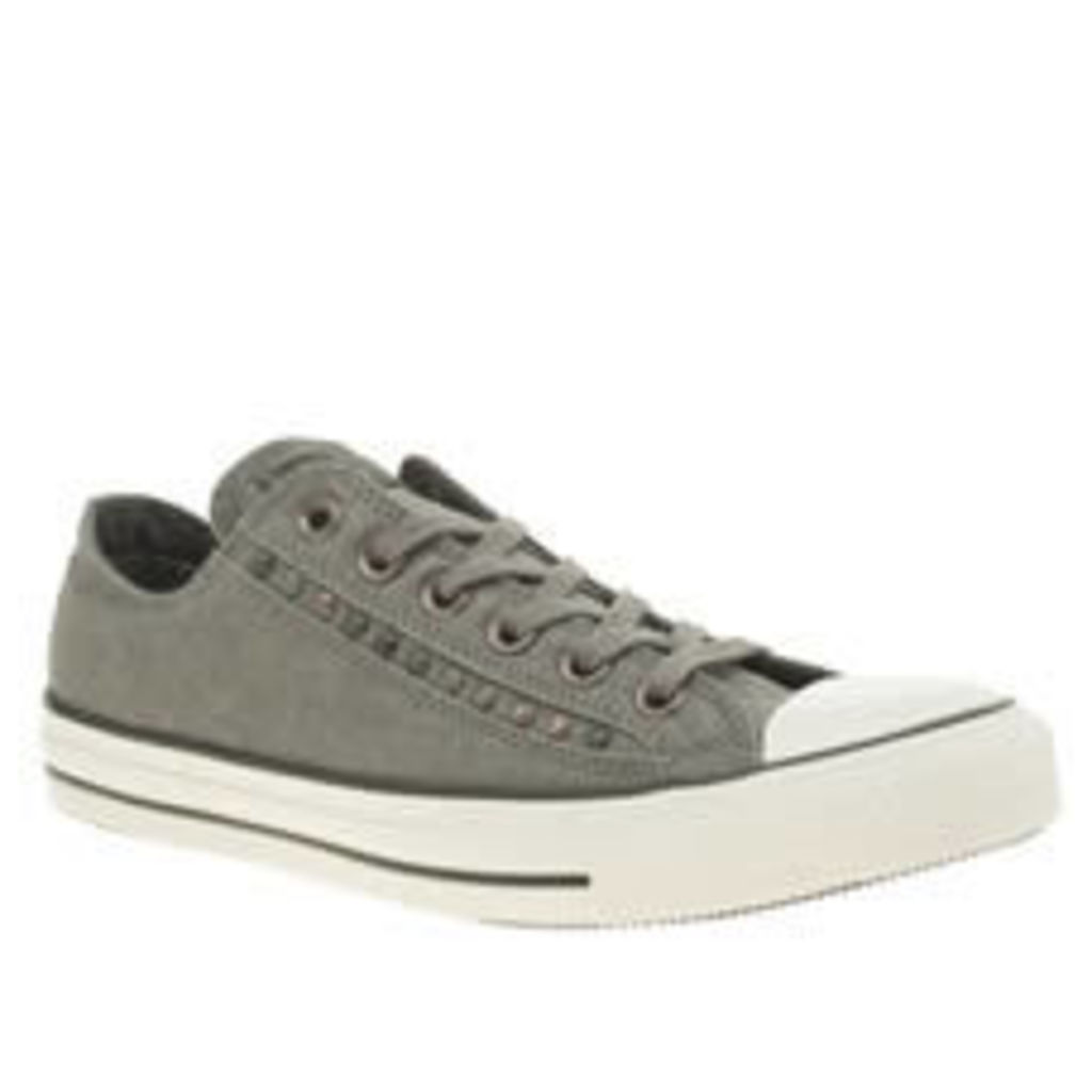 Converse Dark Grey Eyerow Cutout Hardware Ox Womens Trainers