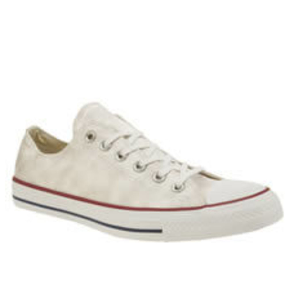 Converse White All Star Sheenwash Ox Womens Trainers