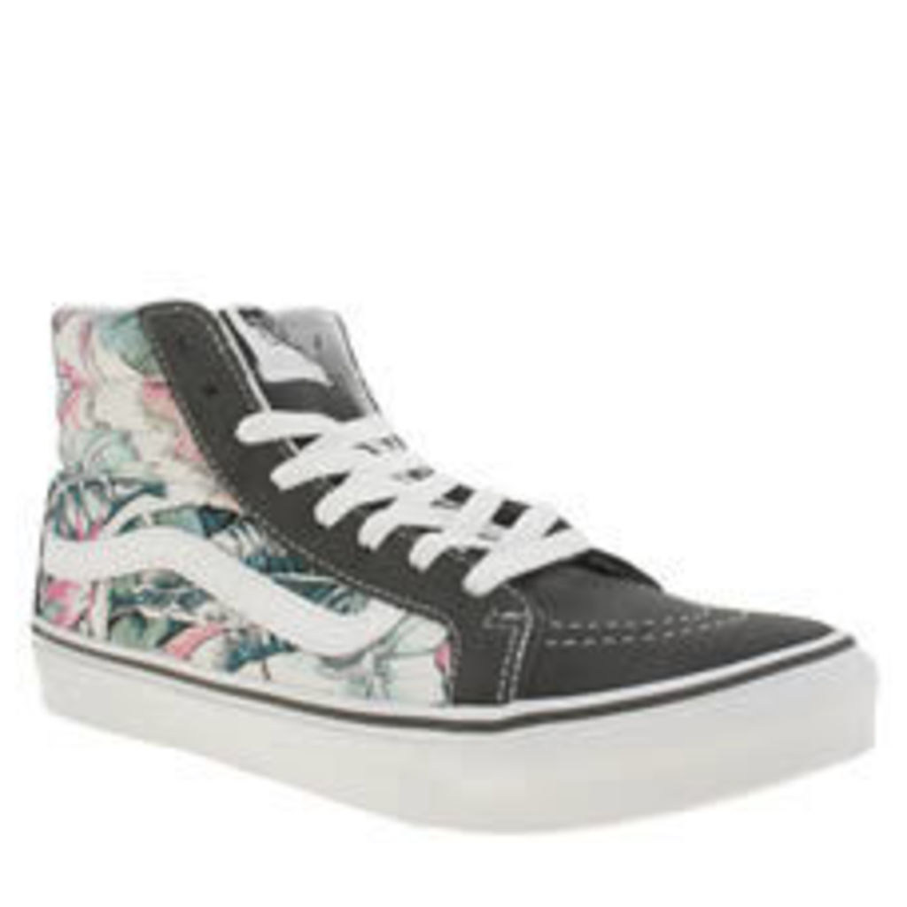 Vans Multi Sk8-hi Slim Tropical Womens Trainers