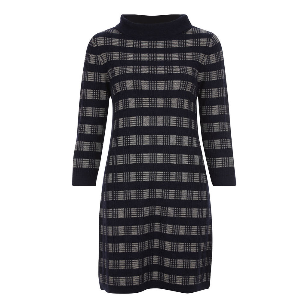 Knitted Check Tunic