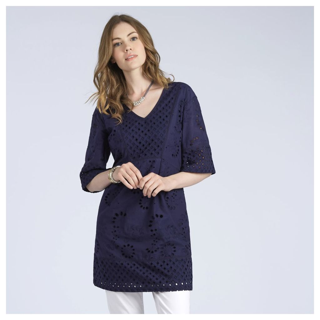 Cutwork Embroidered Tunic
