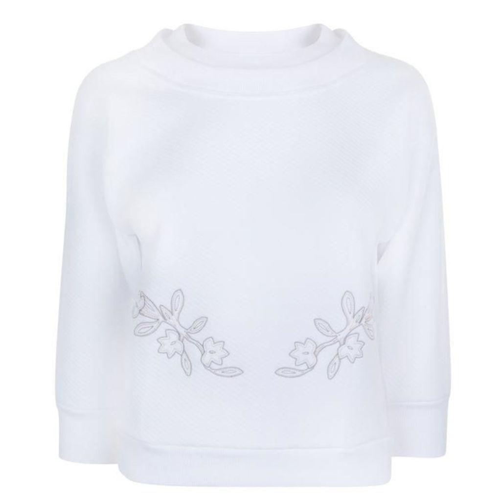 ADIDAS BY STELLA MCCARTNEY Three Quarter Printed Sweatshirt