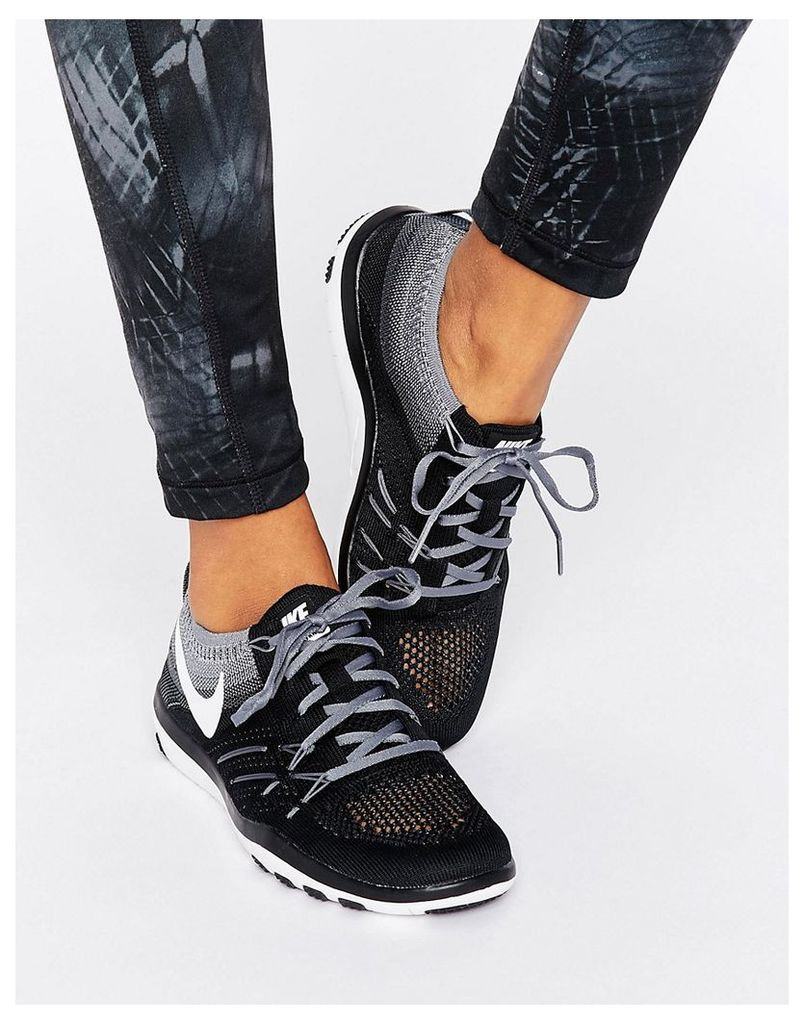 Nike Training Air Zoom Strong Trainers - Black/white-cool gre