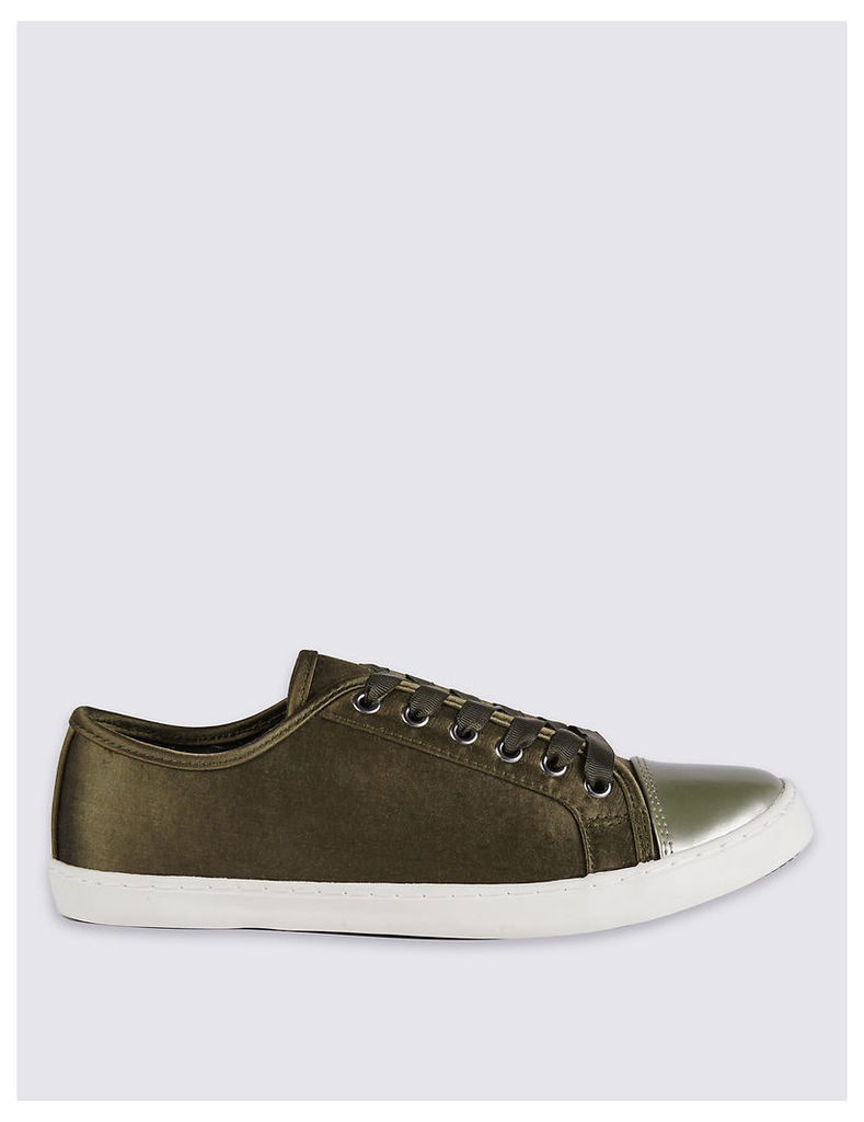 M&S Collection Lace Up Trainers with Insolia Flex