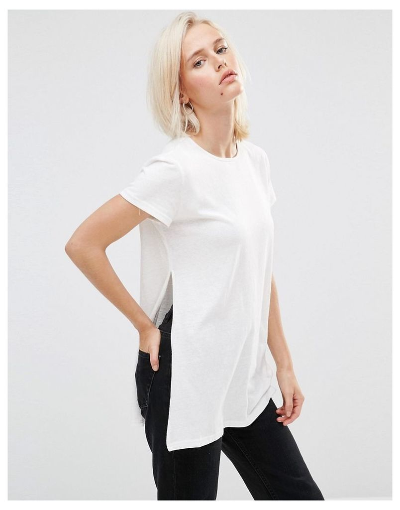 Minkpink Take Two Tunic With Cut Out Side Detail - White