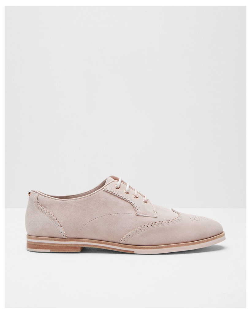 Ted Baker Oxford lace-up brogues Light Pink