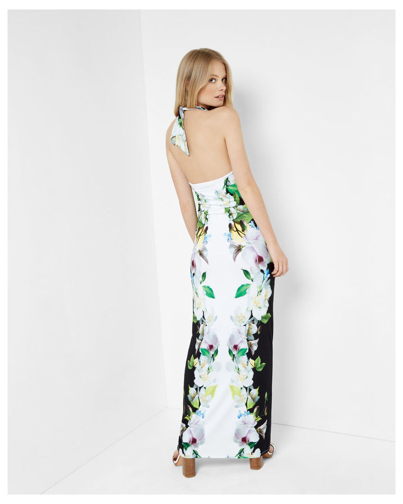 Ted Baker Forget Me Not maxi dress Black