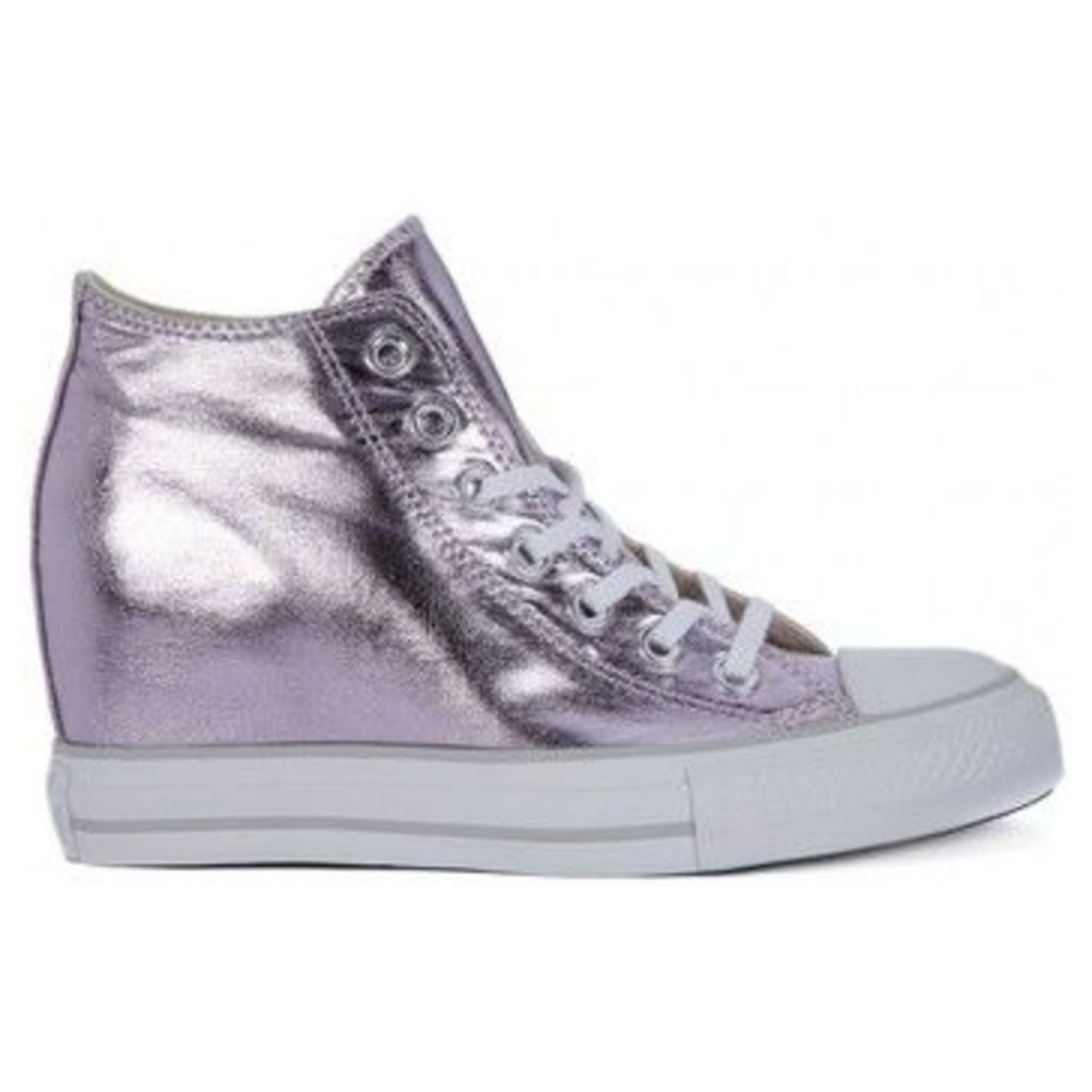 Converse  ALL STAR  MID LUX METALLIC  women's Shoes (High-top Trainers) in multicolour