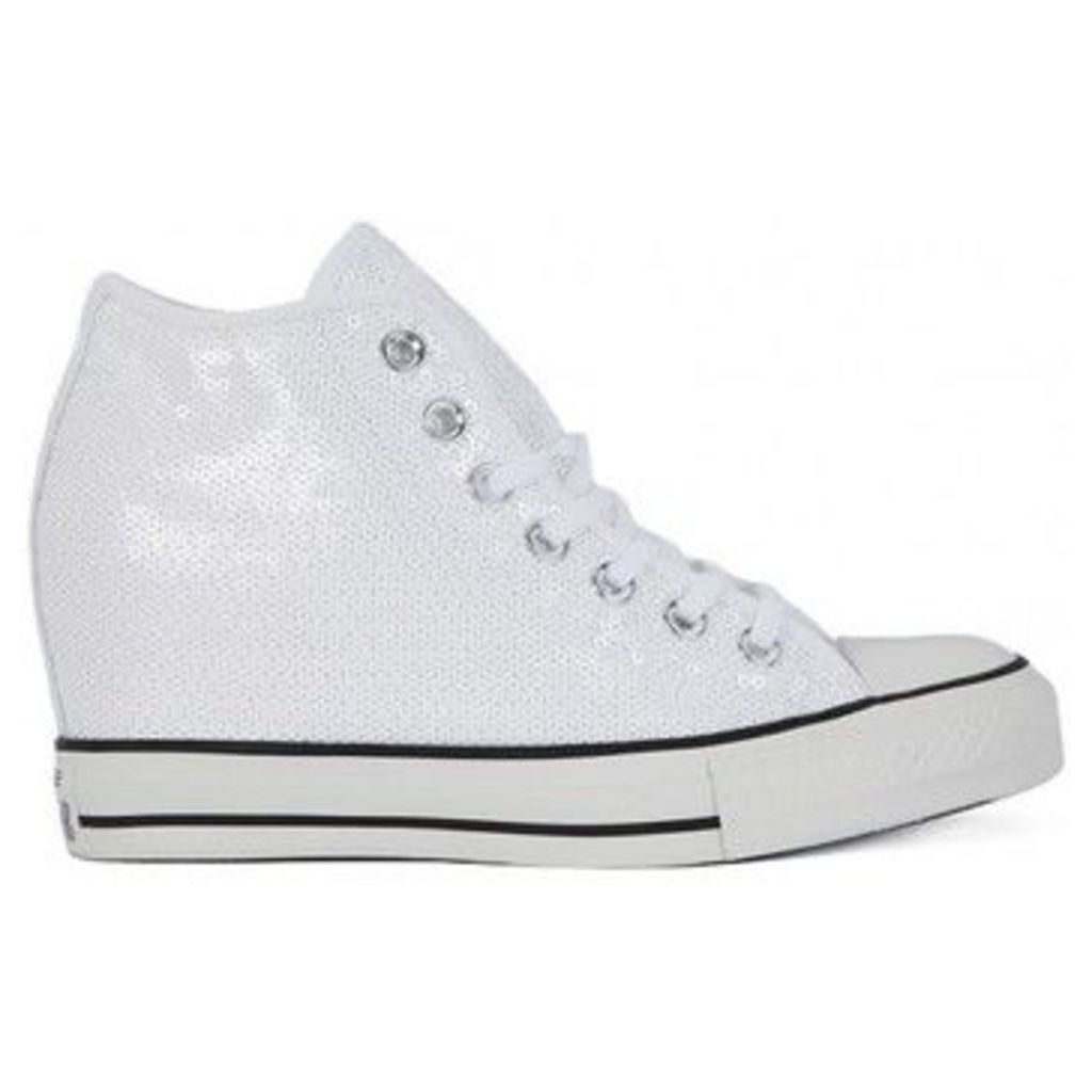 Converse  ALL STAR  MID LUX SEQUINS  women's Shoes (High-top Trainers) in multicolour
