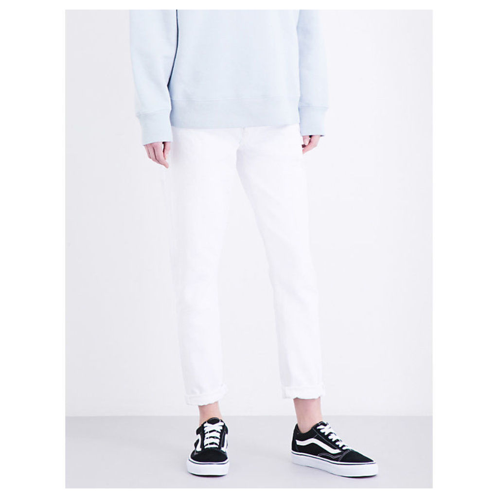 Jamie straight cropped high-rise jeans
