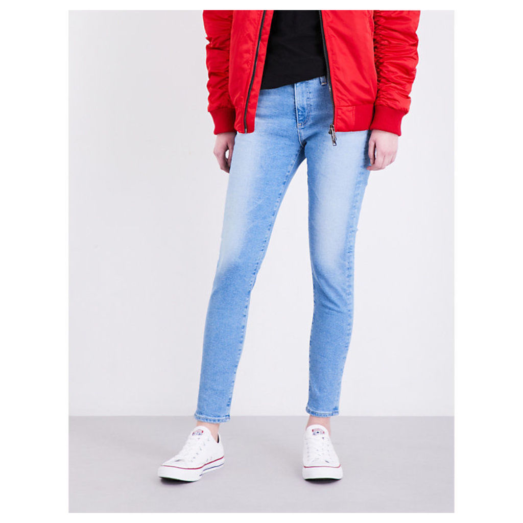 The Farrah skinny high-rise jeans