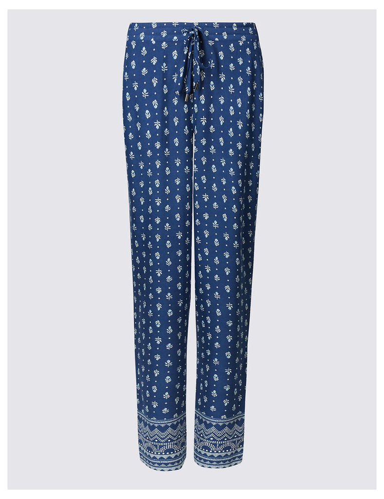 M&S Collection Cropped Tapered Leg Trousers